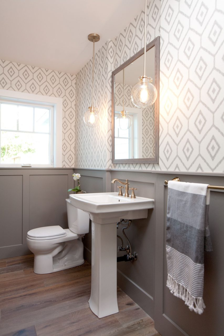10 Beautiful Half Bathroom Ideas For Your Home Pinterest Rose