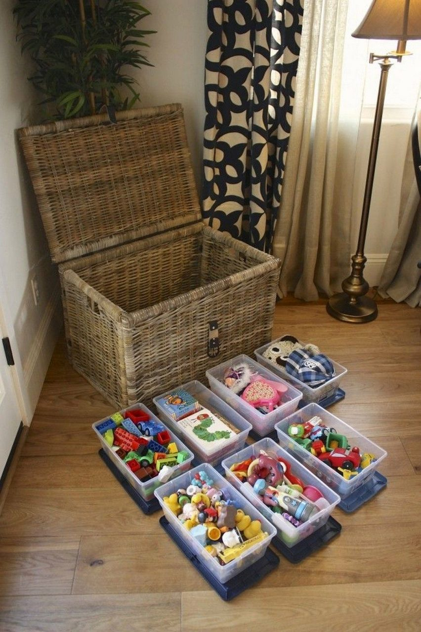 10 Creative Toy Storage Tips For Your Kids Pinterest Creative