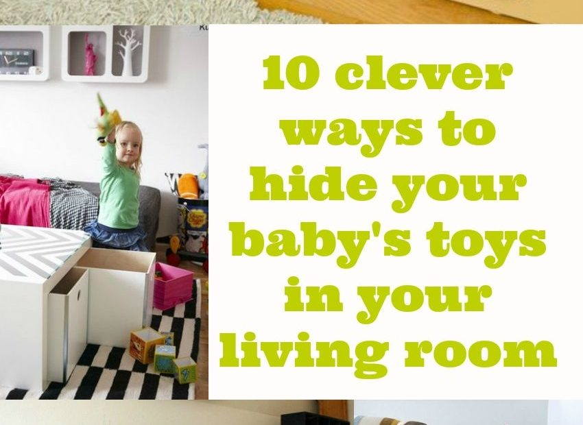 10 Ways To Hide Ba Stoys In Your Living Room Toy Storage In