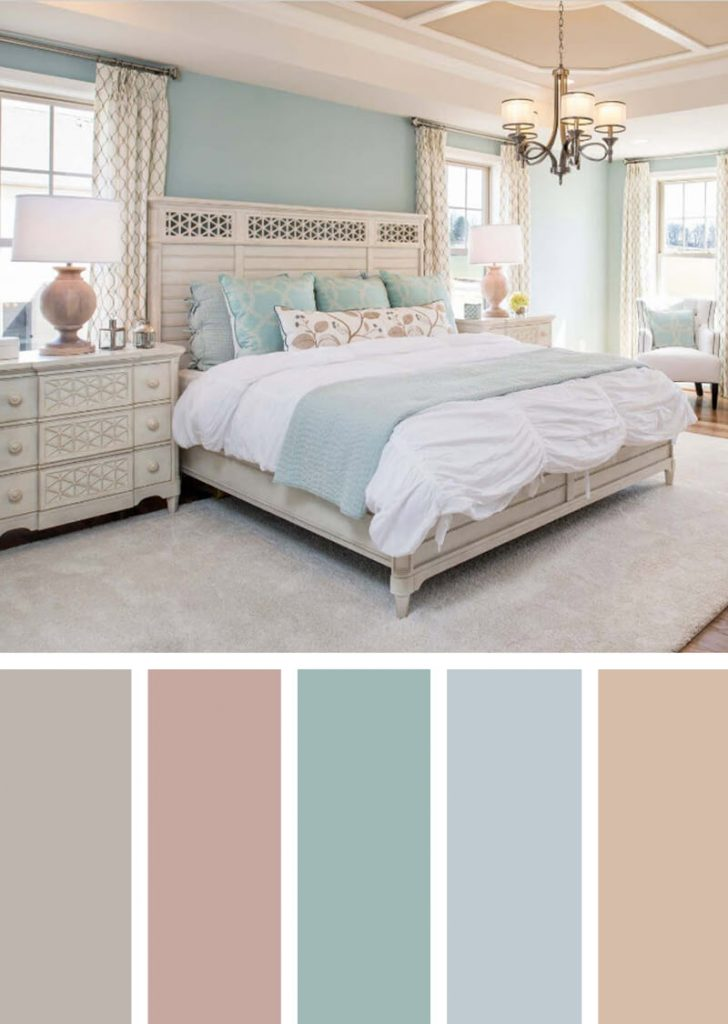 12 Best Bedroom Color Scheme Ideas And Designs For 2018