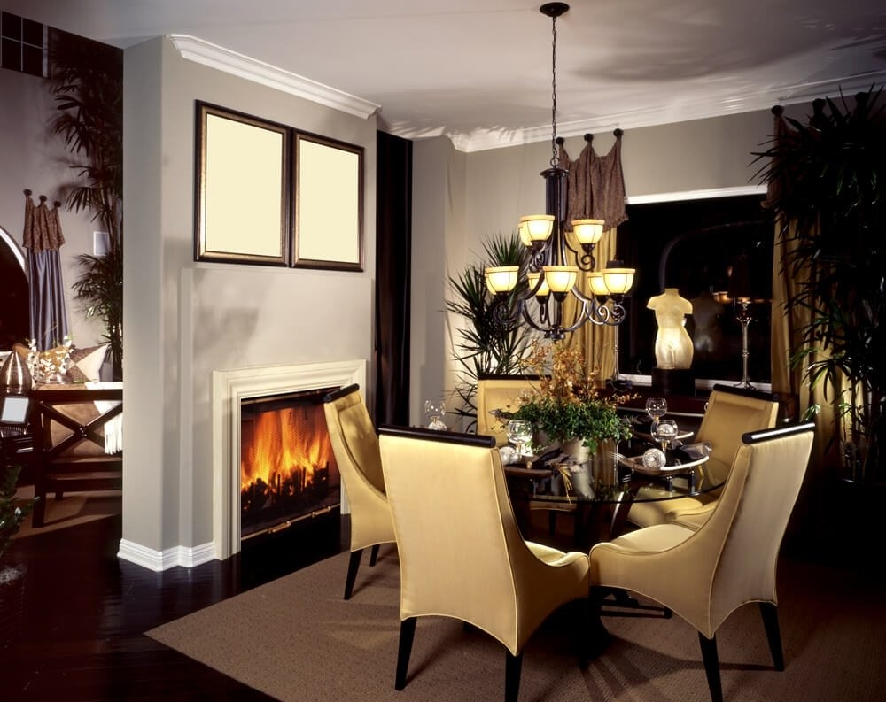 15 Dining Room With Fireplace Ideas Selection Fireplace Ideas 8