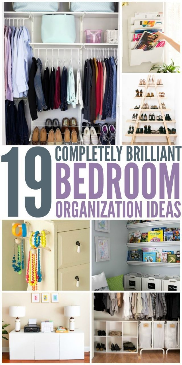19 Bedroom Organization Ideas Organization Ideas Organizations