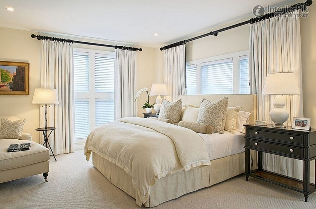 2018 Trends In Bedroom Window Curtains Safe Home Inspiration