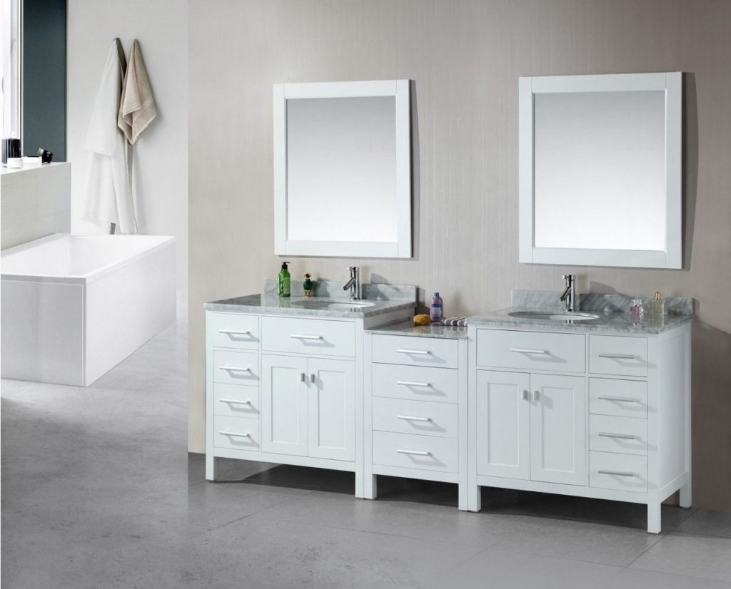 2019 Double Sink Bathroom Vanities And Cabinets Best Interior