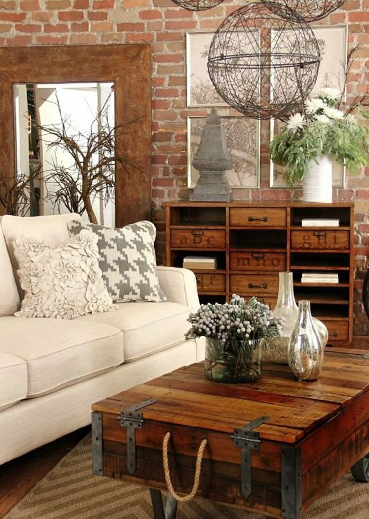 27 best rustic chic living room ideas and designs for 2018 - Rustic Chic Living Room