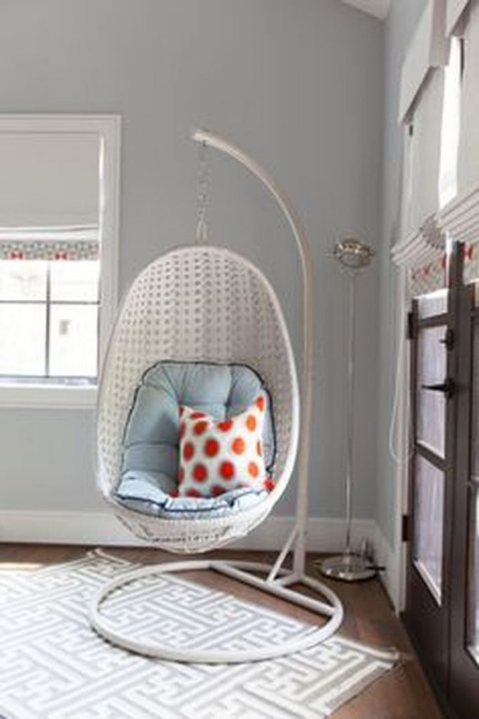 40 Cool Hanging Swing Chair With Stand For Indoor Decor Pinterest