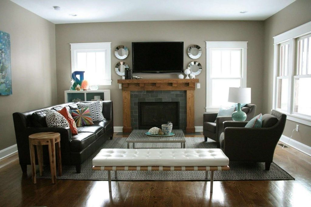 40 Elegant Living Room With Fireplace Decorating Ideas