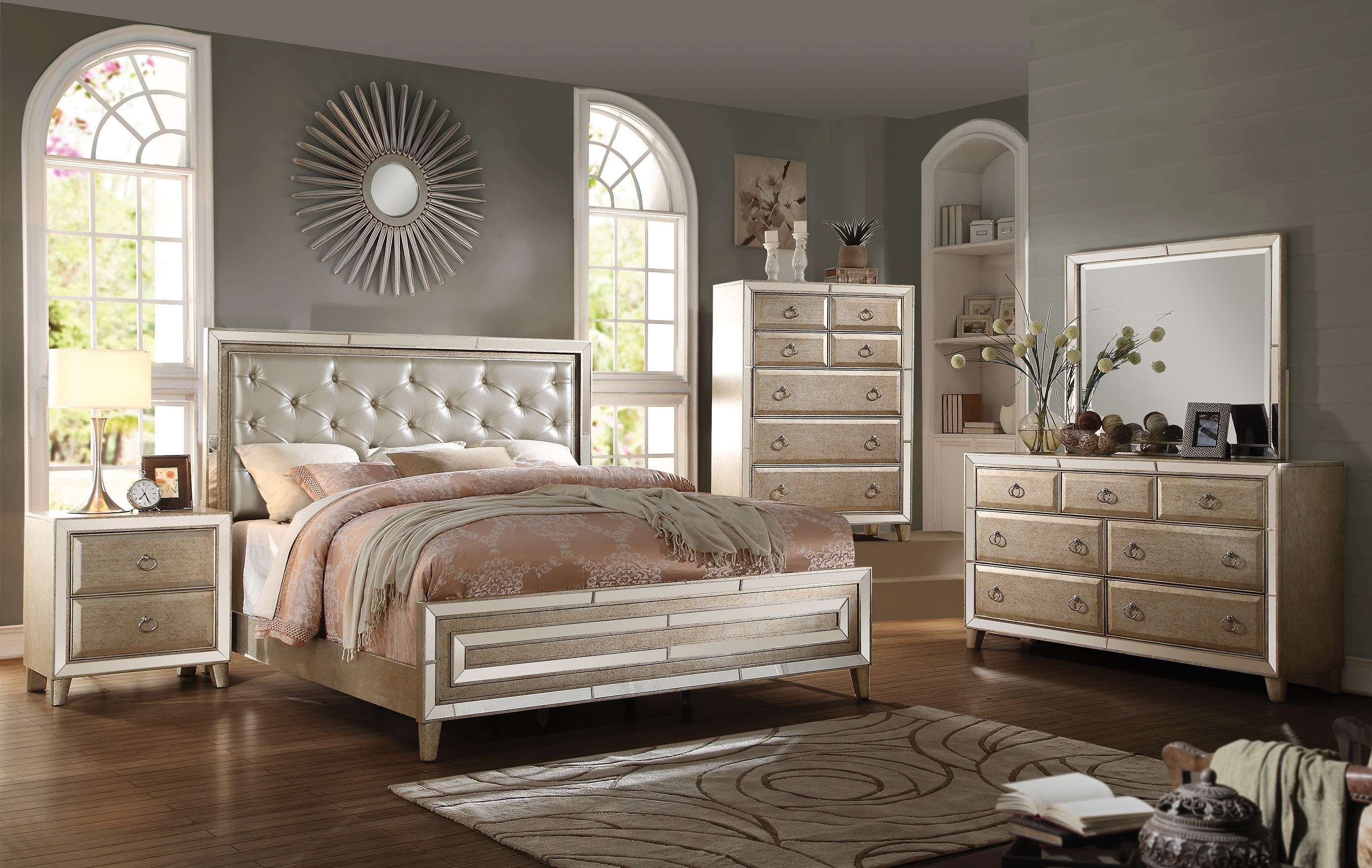 45 Beautiful King Size Bedroom Furniture Sets Layjao