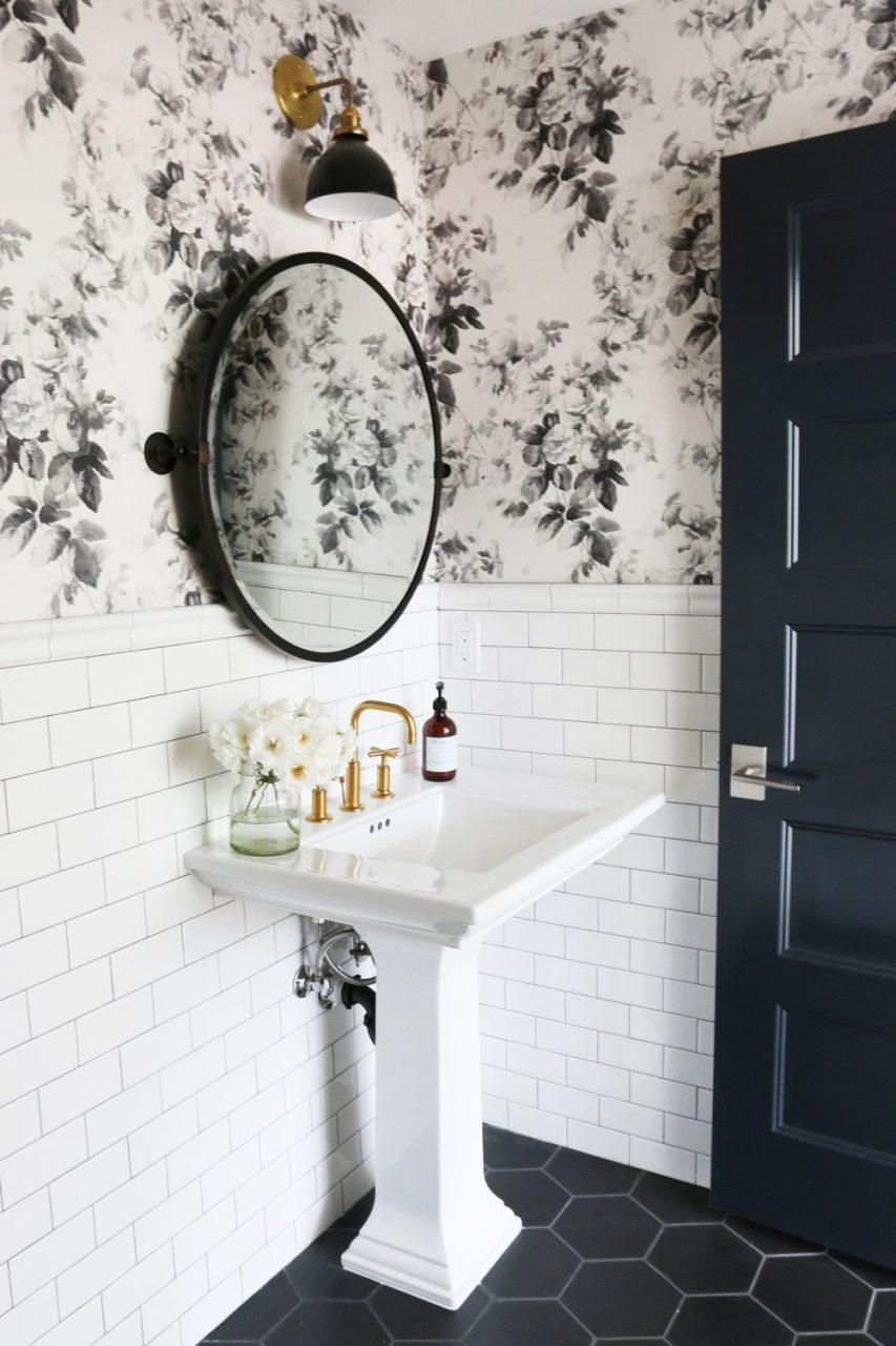 5 Tips For A Small Bathroom Pinterest Studio Mcgee Small