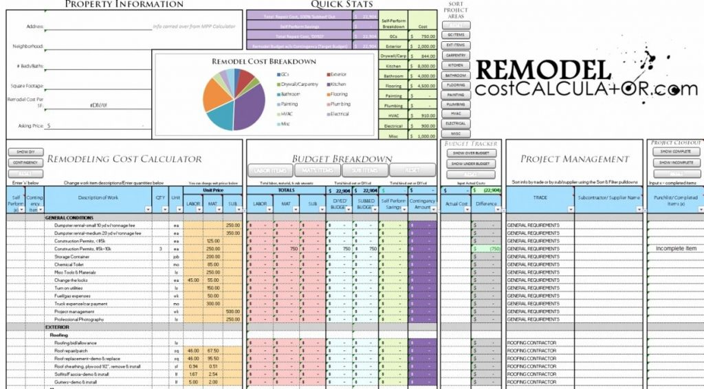 50 Bathroom Remodel Cost Estimator Calculator Popular Interior