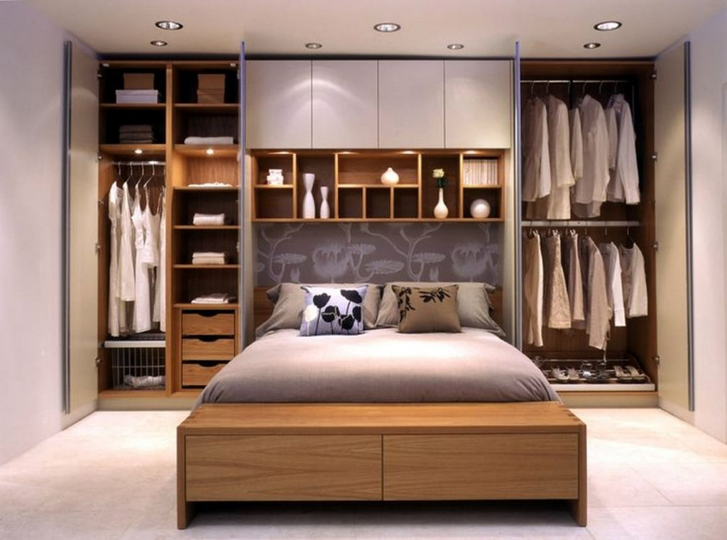 53 Brilliant Bedroom Storage Design Ideas Futurist Architecture