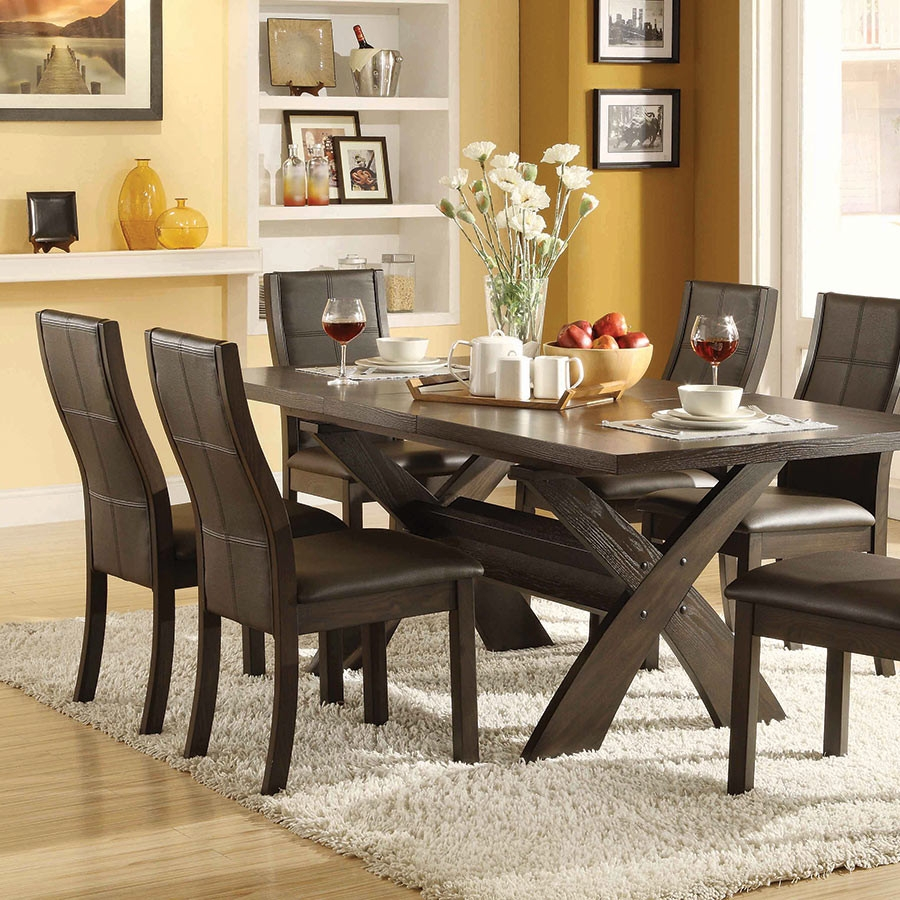7 Piece Dining Room Sets Chic Divine Xenia Set Costco Table Ideas