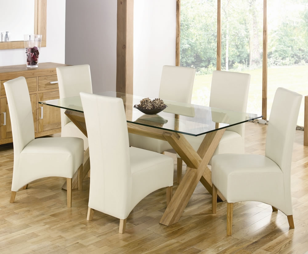 72 Round Glass Dining Room Table And Chairs For Sale Sets Uk John