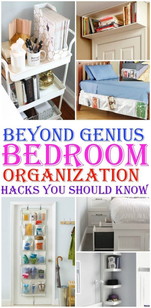 8 Genius Bedroom Organization Hacks You Should Know Organisations