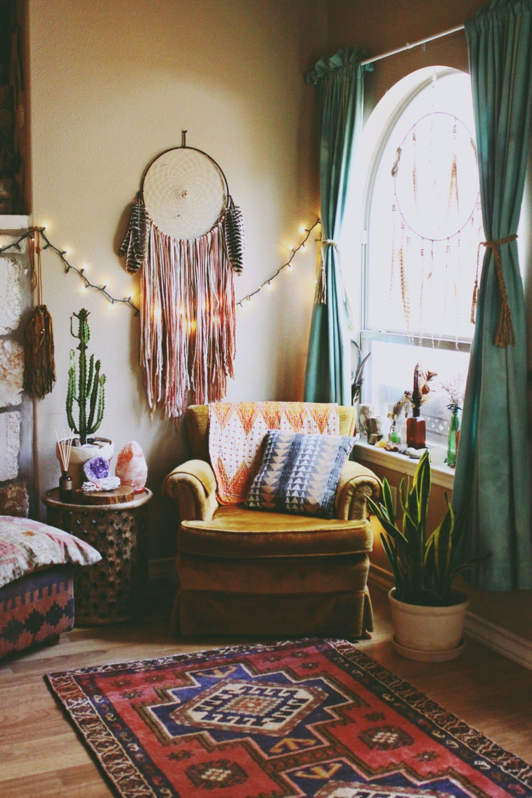 Living Room Ideas Bohemian