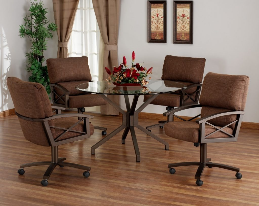 99 Dining Room Set Rolling Chairs Dining Chairs With Casters
