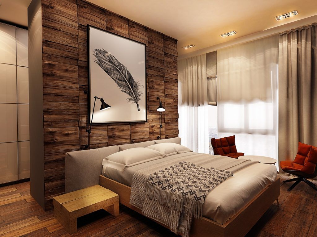 Accent Wall Apartment Ideas On With Hd Resolution 1240x930 Pixels