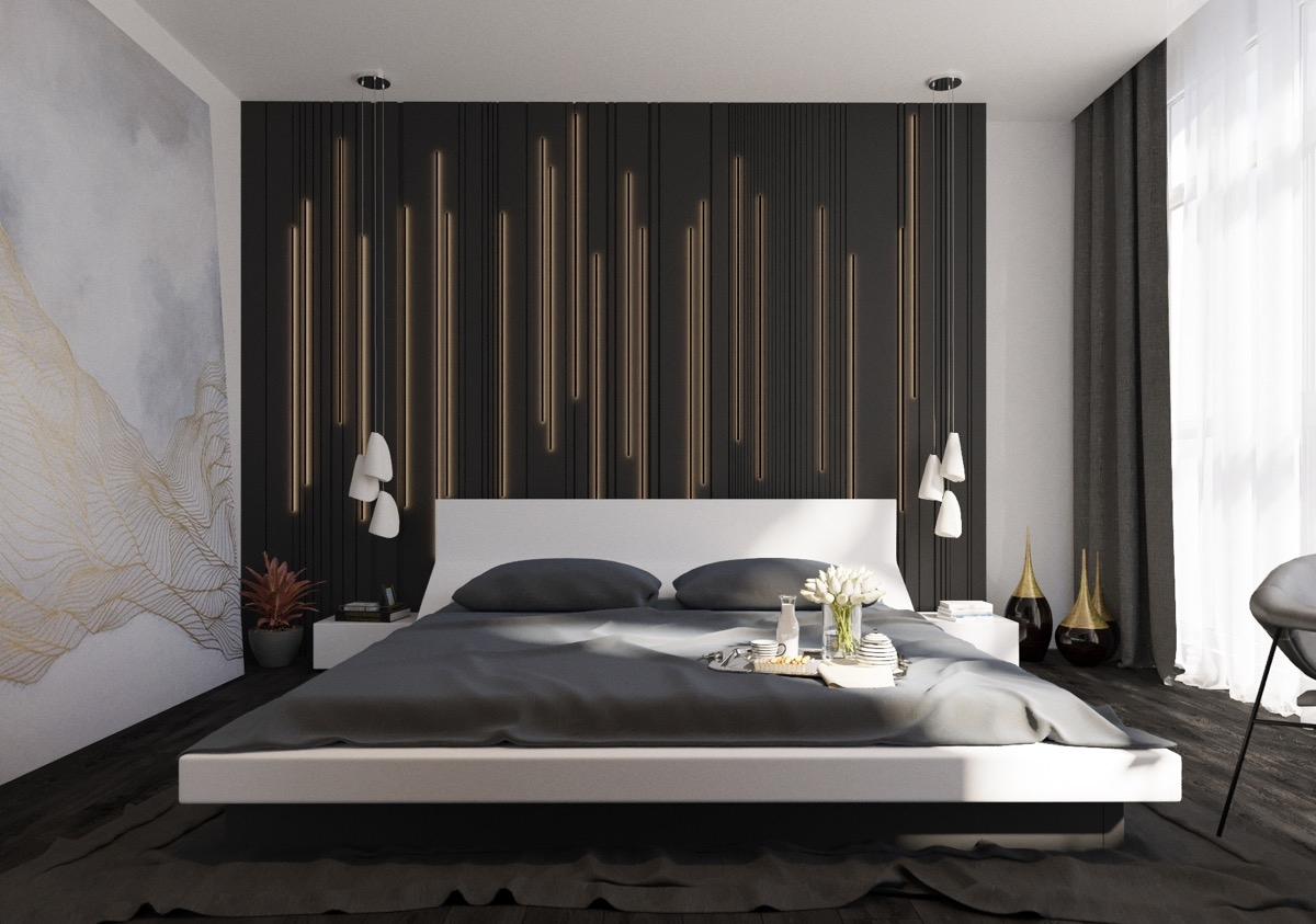 Accent Wall Ideas Bedroom Style Decorative Accent Wall Ideas