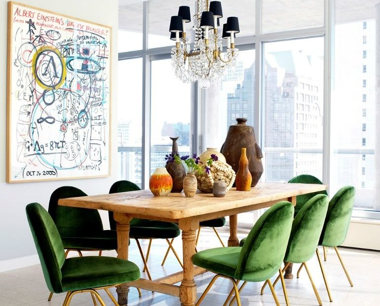 Add A Pop Of Color To Your Home With These Stylish Dining Room