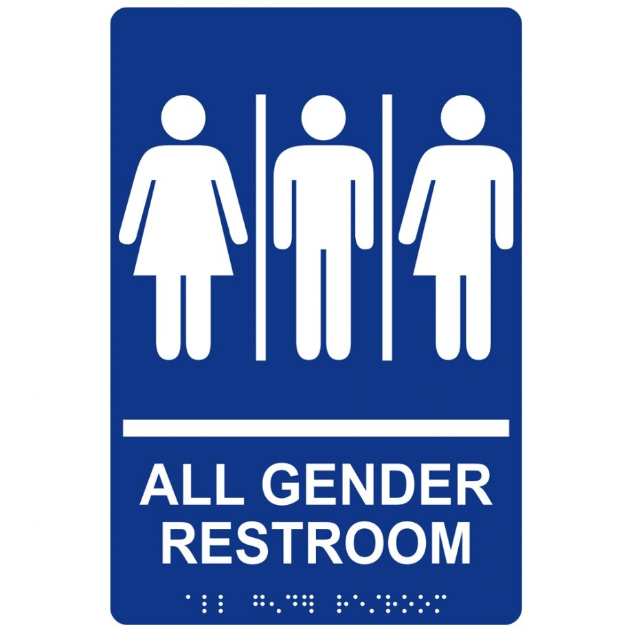 All Gender Bathroom Great Pictures 3 Compliance Signs