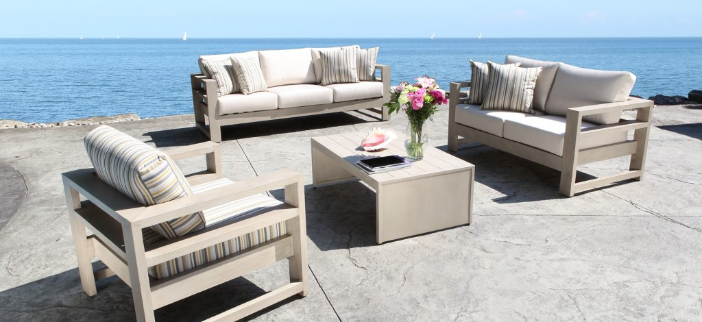 Aluminum Patio Sets At Home Depot Made In Usa Set Sale On Dining Us