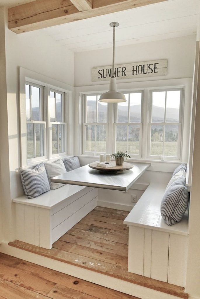 Amazing Corner Booth Plans 16 Bench Kitchen Nook Table Surprising