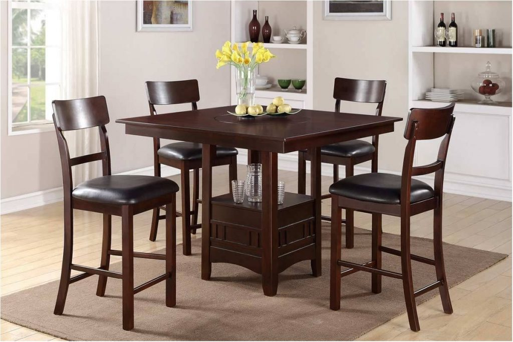 Amazing Small High Top Kitchen Table Dining Room Pub Counter Height