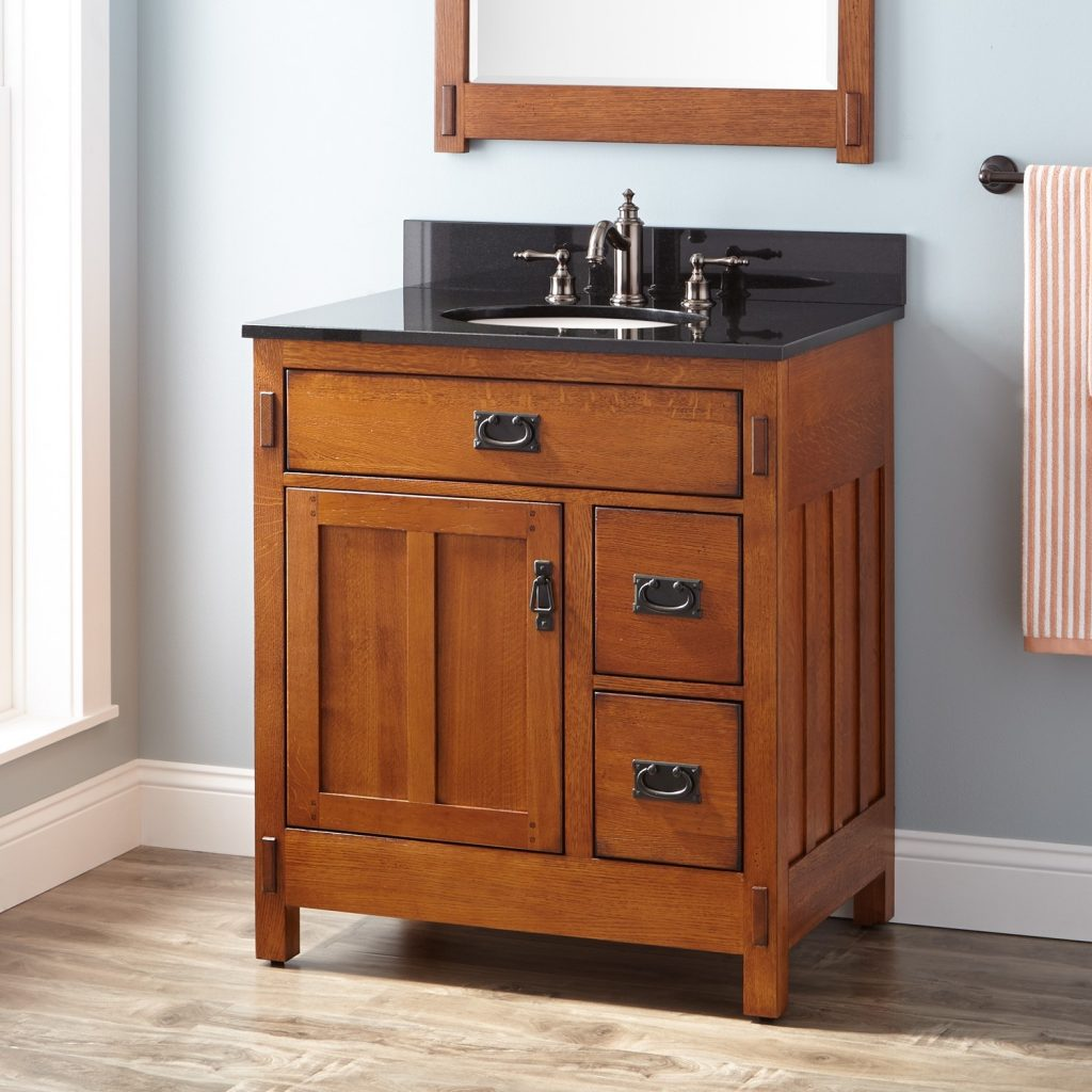 American Oak Bathroom Vanity Top Bathroom Oak Bathroom Vanity