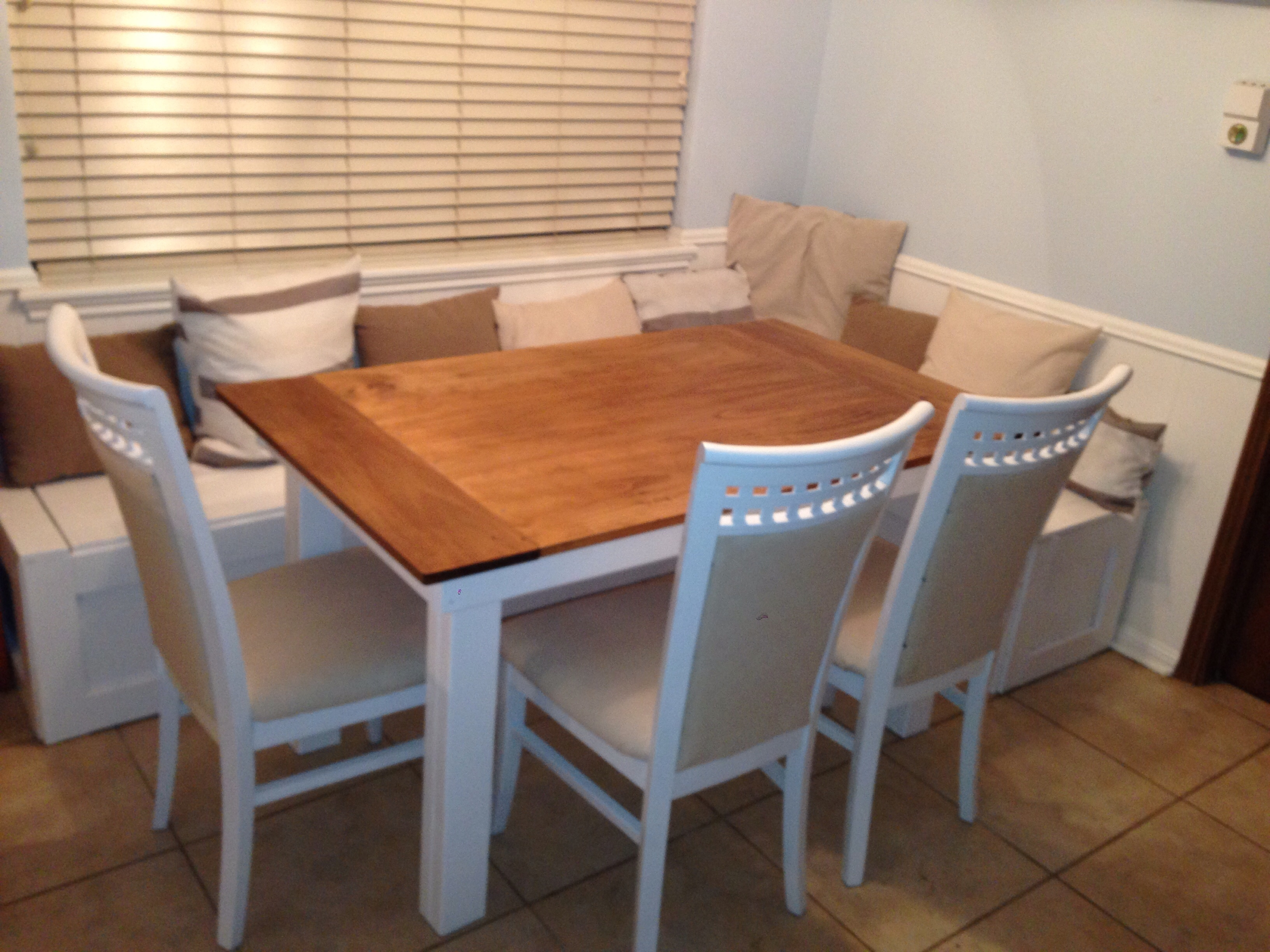 Ana White Breakfast Nook Benches With Table Diy Projects Layjao