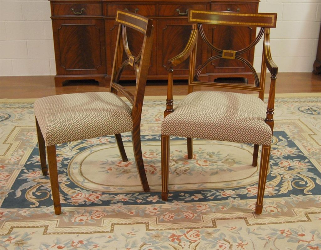 Antique Dining Room Chairs Trellischicago
