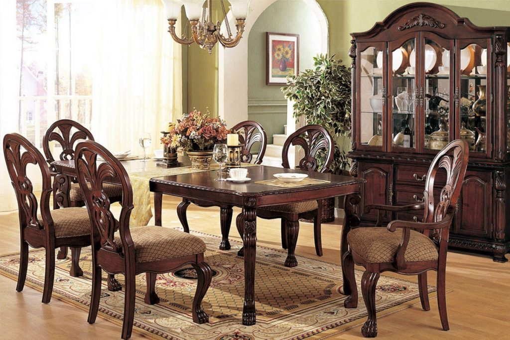 Antique Furniture Dining Room Set Idanonline