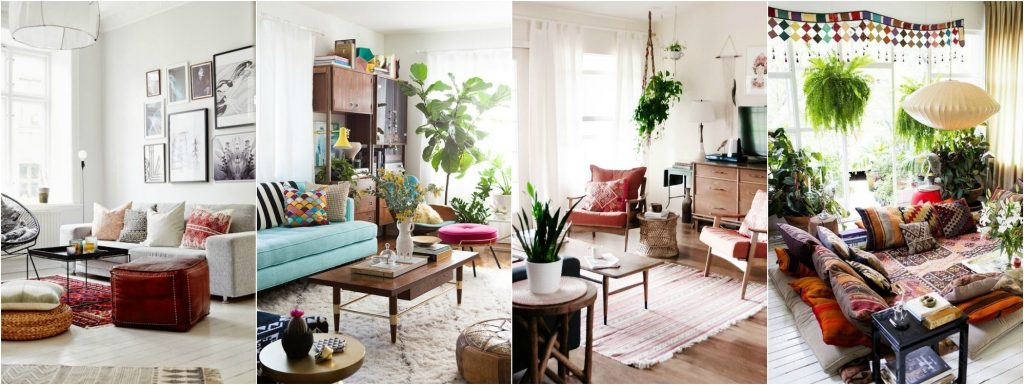 Apartments Boho Chic Living Room Ideas Best Bohemian Decor