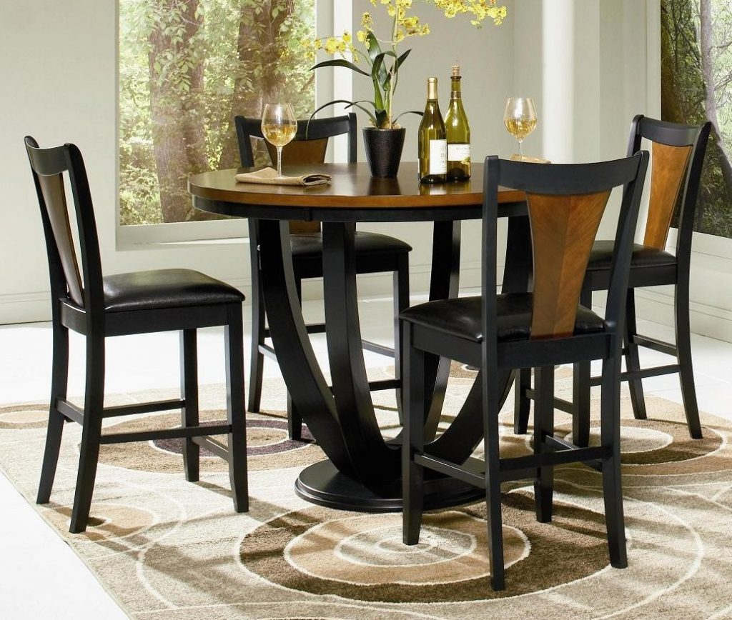 Appealing High Top Table And Chairs Set 21 Counter Dining Sets