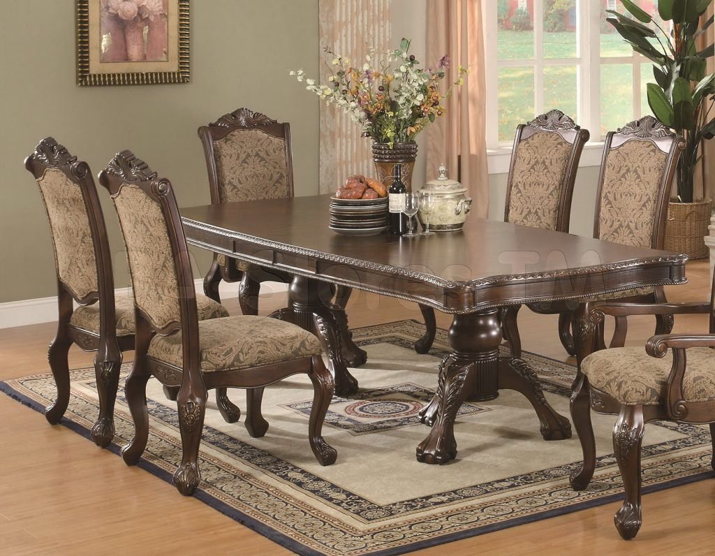 Appealing Traditional Dining Chairs 33 Deep Back Button Chair 3