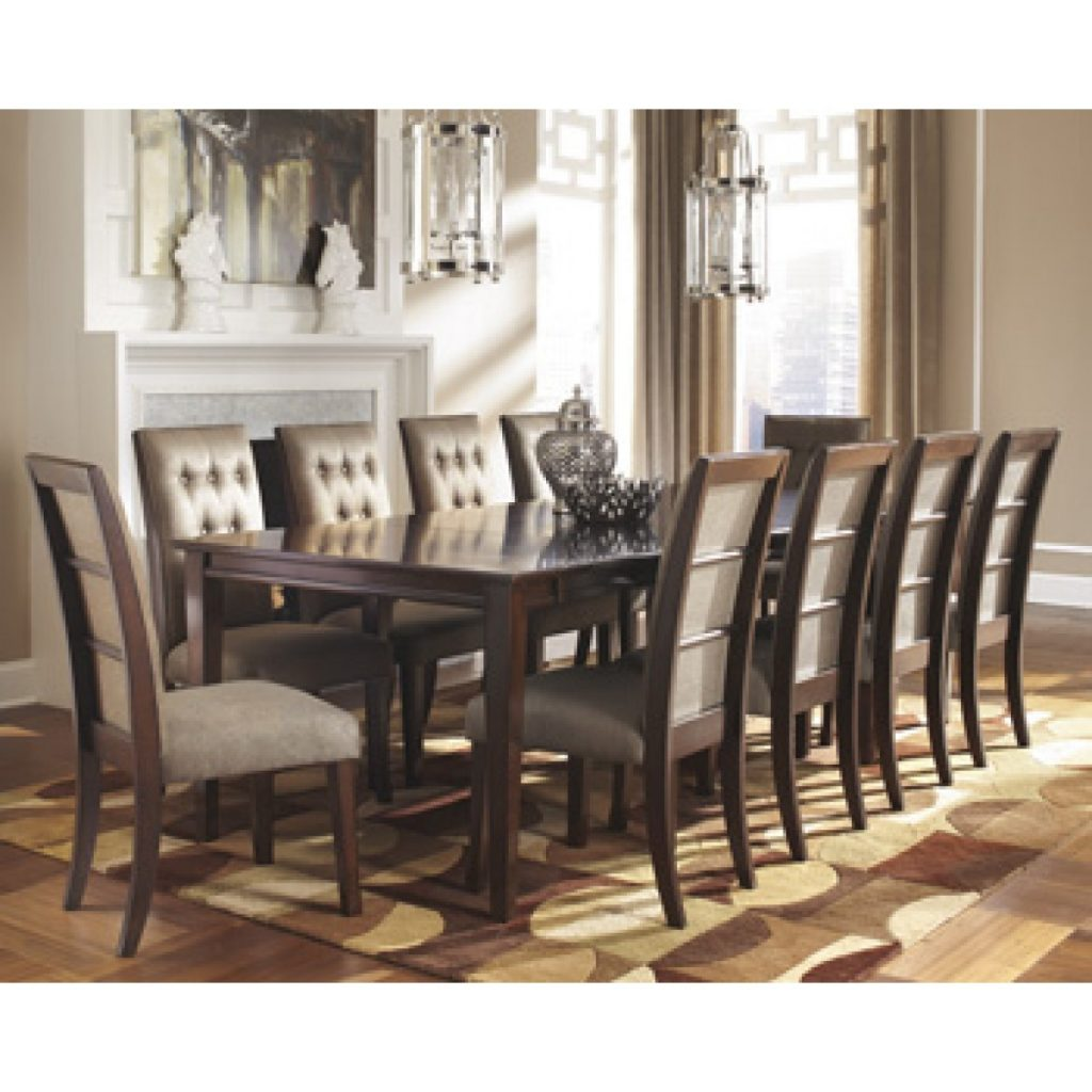 Ashley Furniture Dining Room Table Larrenton Round Ortanique