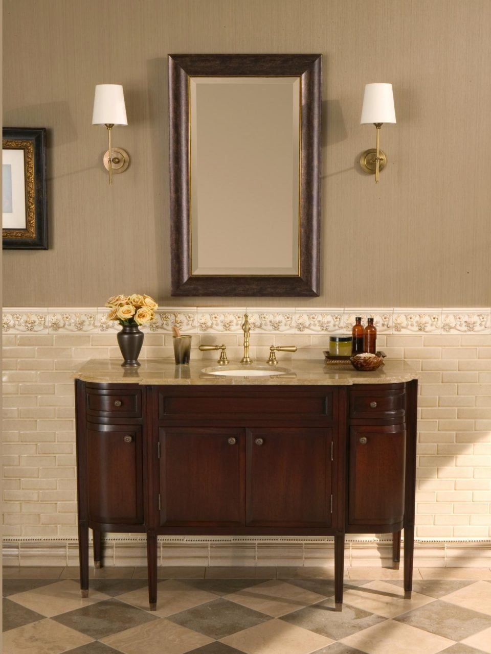 Astonishing Bathroom Vanity Colors And Finishes Pics For Traditional