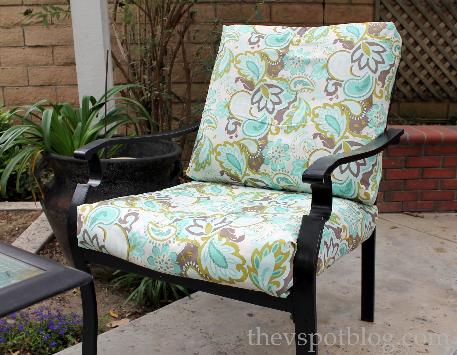Attractive Patio Seat Cushions Outdoor Decorating Suggestion Outdoor