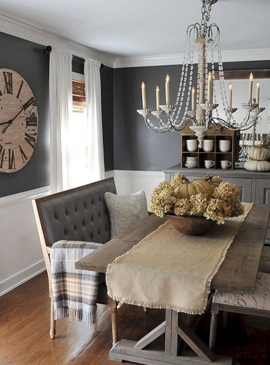 Awesome 70 Gorgeous Modern Farmhouse Dining Room Decor Ideas Https