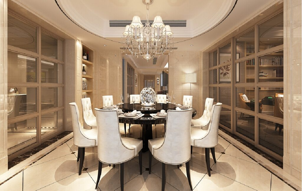 Awesome Dining Room Round Table Esescatrina