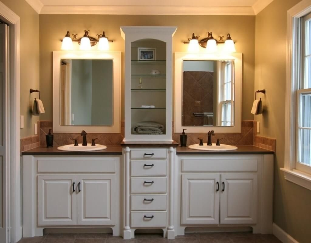 Awesome Master Bathroom Design Ideas Best White Vanity For Small The