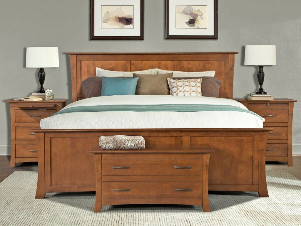 Bedroom Sets Solid Wood Layjao
