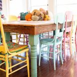 Ba Nursery Prepossessing Colorful Dining Chairs Images About