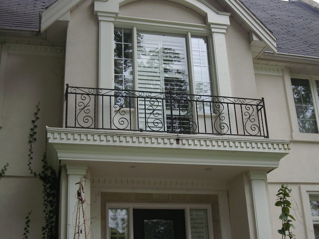 Balcony Railings Wrought Home Porch Railing Floor Household Iron