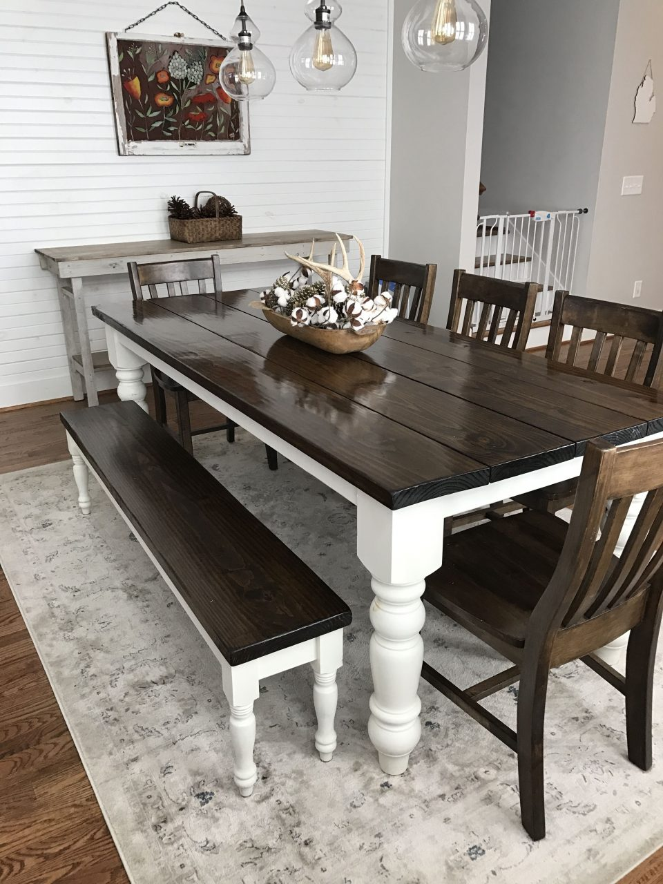Baluster Turned Leg Table Pinterest Traditional Tabletop Dining