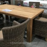 Bar Height Patio Furniture Costco Awesome Teak Patio Dining Table