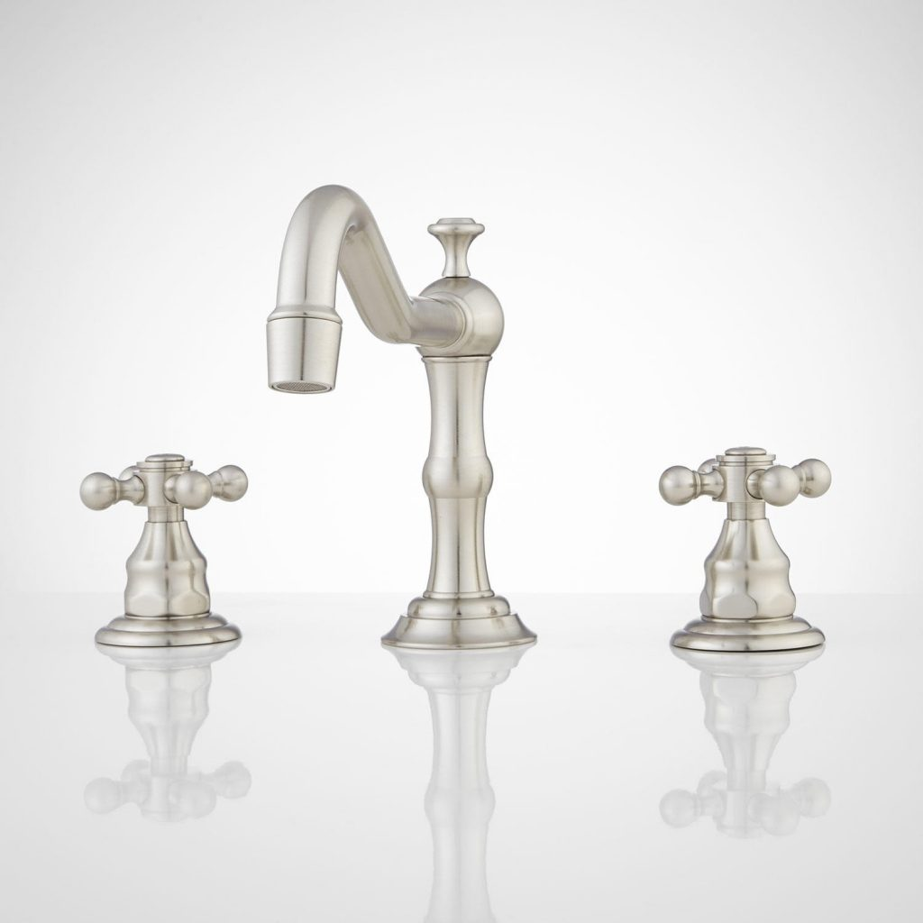 Barbour Widespread Bathroom Faucet In Brushed Nickel Faucets Avaz