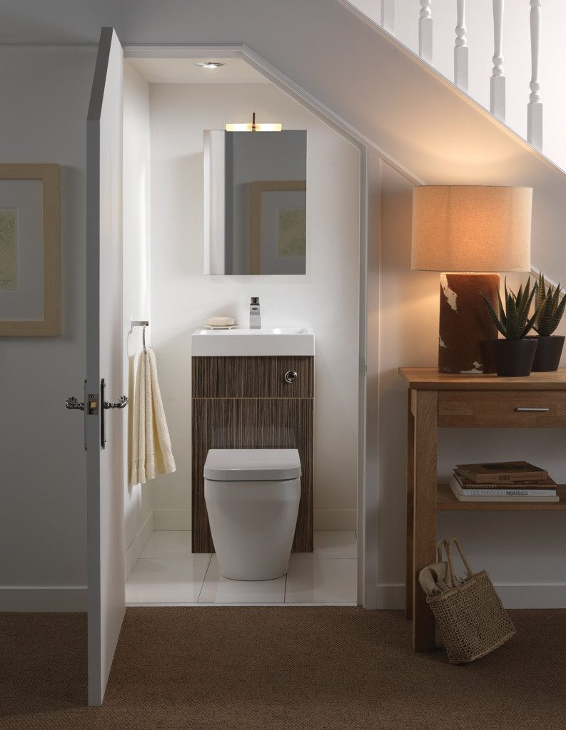 Basement Photo Friday A Half Bath Powder Room In A Small Space