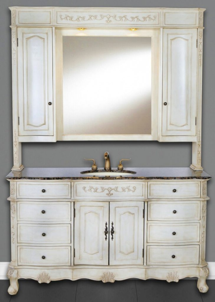 Bathroom 60 Inch Cortina Vanity Single Sink Vanity Vanity With