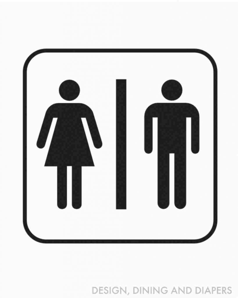 Bathroom Gender Signs Vs Unisex S The Pros And