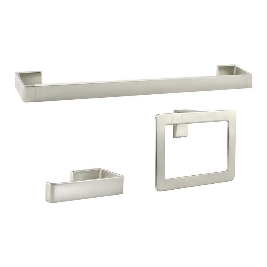 Bathroom Hardware Brushed Nickel Complete Ideas Example